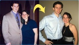 Ron And His Wife Before And After Pictures After Losing A Total Of 101 Pounds...