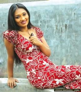 Sexy Girl Upeksha Swarnamali