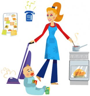Busy Mom - Is this how your days are, too?