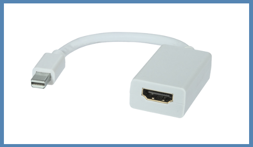 Mini display port to HDMI for mac