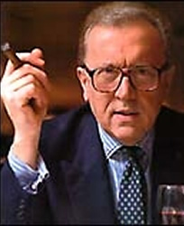 THE INTERVIEWER:  David Frost is probably the world's most prominent interviewer.