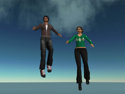 Flying is Normal in Second Life