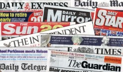 What are freelance press agencies and how they work with newspapers?