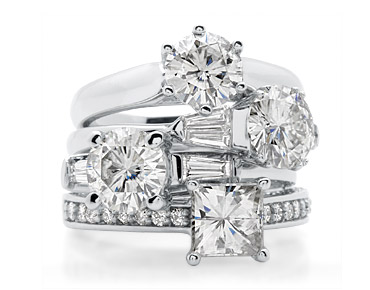 moissanite- a beautiful diamond alternative