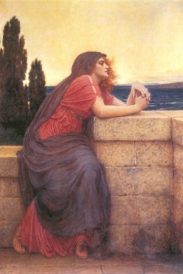 Isolde (Iseult)Charles E. Perugini- Oil on canvas
