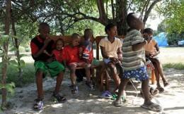 Orphaned Haiti children before the quake http://www.saltspringnews.com/
