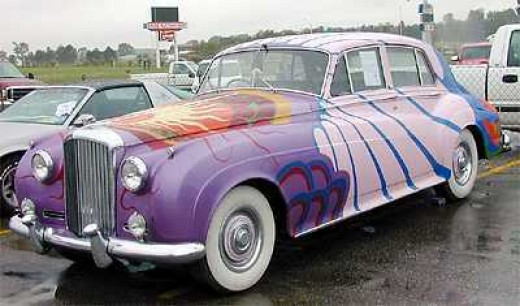 Bentley in Fun Colors and Extensive Paint Designs