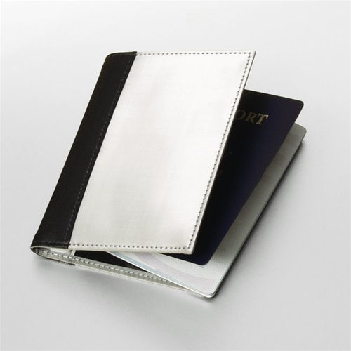 Stewart/Stand Stainless Steel Passport Sleeve         http://www.airlineinternational.net/stpasl.html