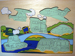 A simple Child's Jigsaw Puzzle