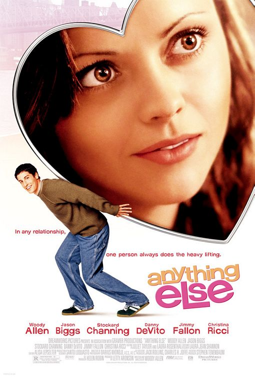 Anything Else came out in 2003 and is one of Woody Allen's best philosophical movies by far.