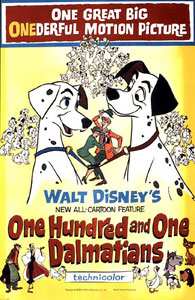 One Hundred and One Dalmations is one of the most recognised children's disney films in history.