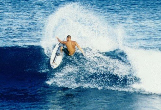 Surfing in Siargao