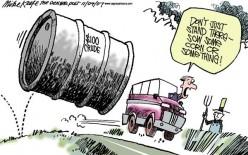 Oil is Running Out - Hoorah!