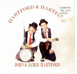 Album with John Hartford and his son.