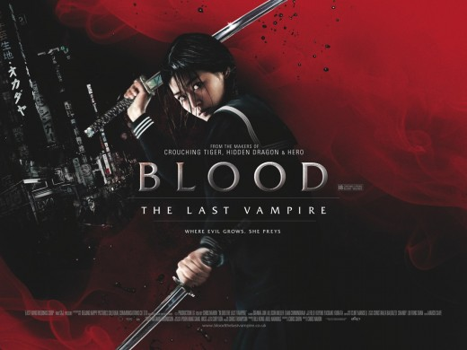 Film review of Blood The Last Vampire.