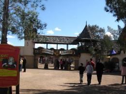 Entrance to 2009 Arizona Renaissance Festival