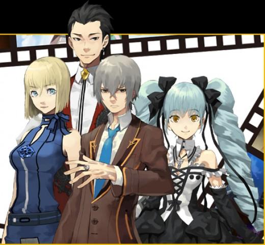Nola, Liu Yi, Atsuki, and Natsuki.
