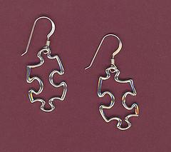 Jigsaw Earings