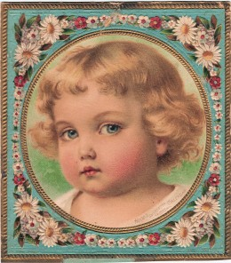 This is another vintage picture that I use for several items.