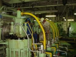 Marine Engineers working with Main Propulsion Engine