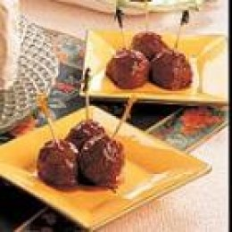 Glazed Meatballs (from Allrecipes)