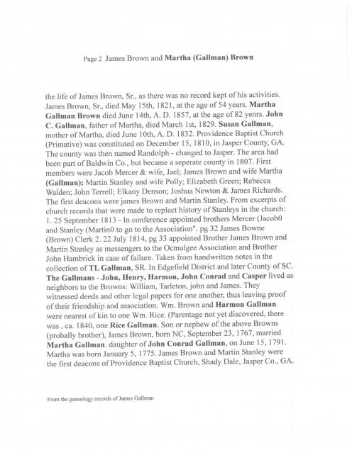 Page 32  James Brown & Martha (Gallman) p 2