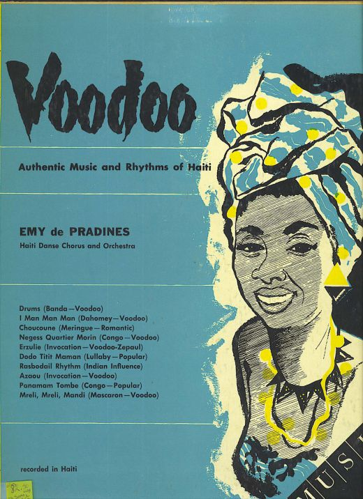 "Emy de Pradines, from Haiti, ""Voodoo"", #R-199-151"