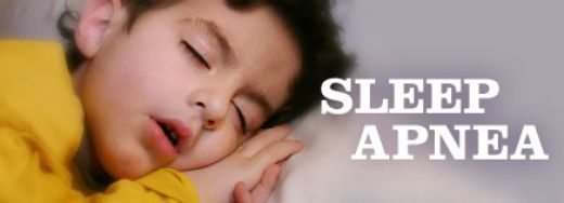 Children also experience sleep apnea  http://kidshealth.org/