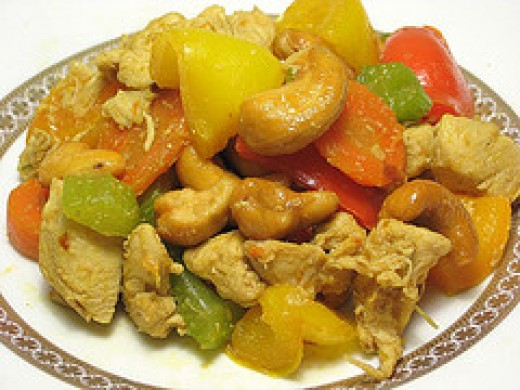 Thai Cashew Chicken (Photo from Flickr)