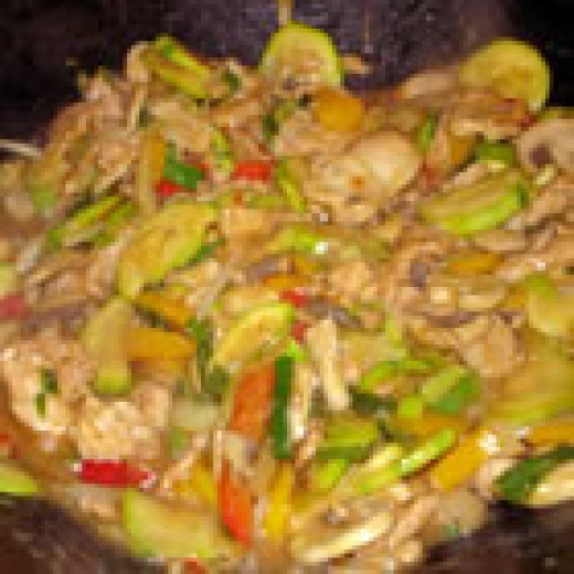 Authentic Thai Cashew Chicken (from Allrecipes)