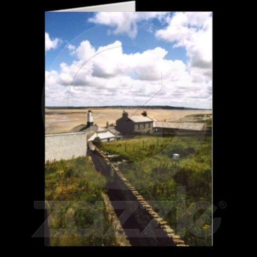 Hilbre Island greetings card only from Spooky Cute Designs.