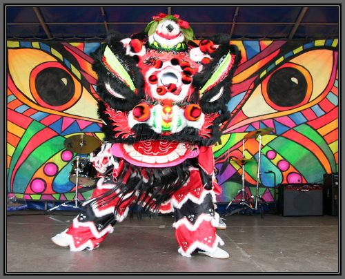 Lion Dance during Chinese New Year and other festivities