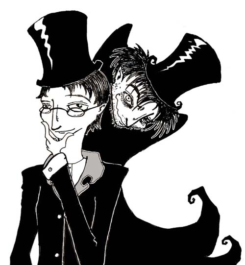Dr. Jekyll wanted to get rid of his sinful side through science and still could not get rid of the darkness within, which surfaced as Mr. Hyde.