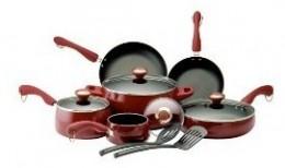 Red Porcelain Paula Deen Pots