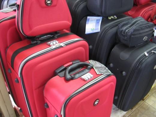 Choosing your luggage, xenia, morguefile.com