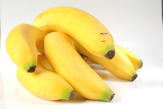 To avoid your bananas reaching  their peaks too soon, buy some  ripe and some green bananas.