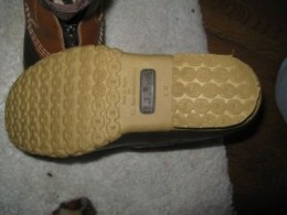 Really good gripper sole