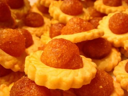 Pineapple tarts--my favorite!