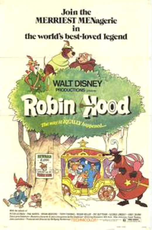 Robin Hood is by far one of the Greatest Disney Films made in the 70s'.