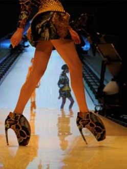 The Alexander McQueen Reptile Shoe