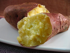 Simple Baked Sweet Potato (from Allrecipes)