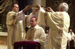 ORDINATION OF ROMAN CATHOLIC BISHOP