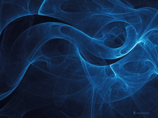 Infinity blue wallpaper