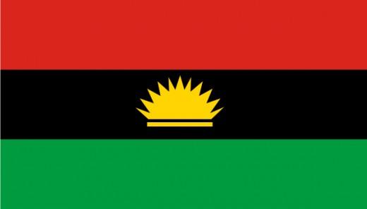 Biafra Flag.