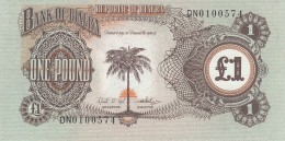 Biafra One pound Note