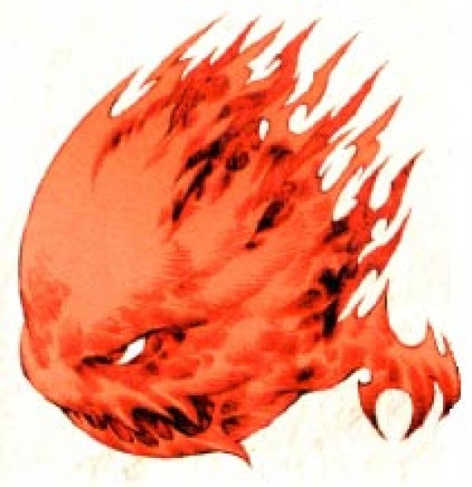 The Bombardier is what would result if the Bomb monster was made into a full-fledged Job in Final Fantasy Tactics.