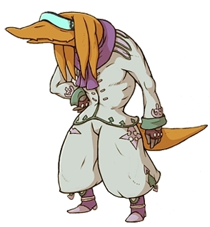 Gamblers are the next tier above the Trickster Job from Final Fantasy Tactics A2. They also share common characteristics like using Cards as weapons.