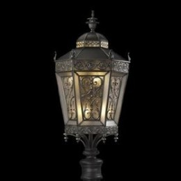 Fine Art Lamps 542080ST Conservatory 6 Light Post Lantern, Solid -- available at amazon.com (see below)