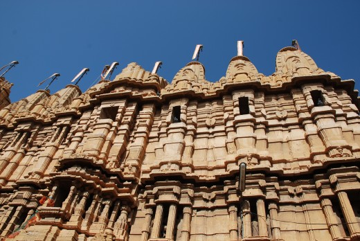 Jain temples on the Jaisalmer fort