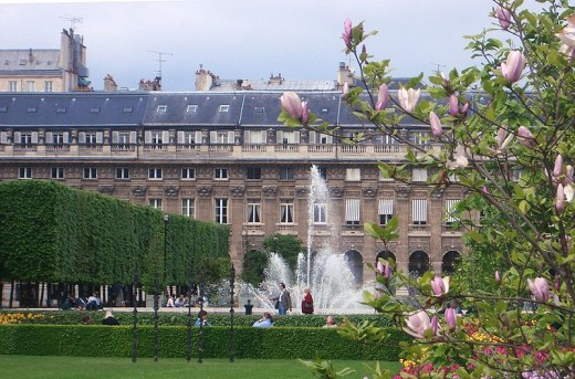 Royal Garden, Paris